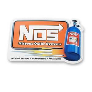 NITROUS OXIDE SYSTEMS #19327NOS NOS Metal Sign