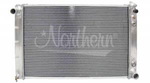 NORTHERN RADIATOR #205027 Aluminum Radiator GM 65-90 Cars Auto Trans