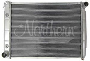 NORTHERN RADIATOR #205071 Aluminum Radiator Dodge 66-80 Cars