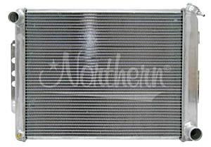 NORTHERN RADIATOR #205125 Aluminum Radiator GM 67-69 Camaro Man. Trans