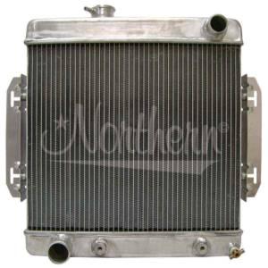 NORTHERN RADIATOR #205155 Aluminum Radiator Hot Rod Universal