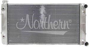 NORTHERN RADIATOR #205183 Aluminum Radiator 55-57 Chevy w/LS Engine