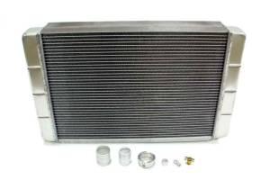 NORTHERN RADIATOR #209657B Custom Aluminum Radiator Kit 16 x26