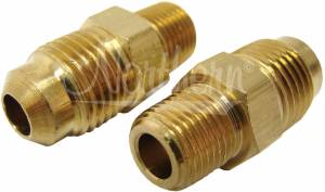 NORTHERN RADIATOR #Z80005 Trans Line Adapter 1/8in -27 NPT X 5/16in 2 Pack