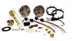NEW VINTAGE USA #37215-02 Woodward 2 Gauge Kit Speed/Tach Quad Gauges