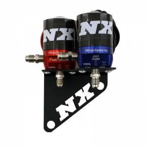 NITROUS EXPRESS #15770 Solenoid Bracket - GM LS RH Cylinder Head
