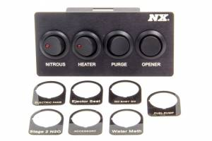 NITROUS EXPRESS #15782 Custom Switch Panel - Mustang 87-93