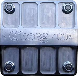 OBERG FILTERS #4028 Billet Fuel Filter - 4in 28-Micron