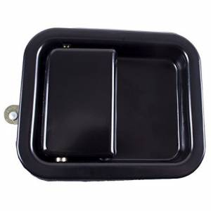 OMIX-ADA #11812.06 Paddle Door Handle  Blac k; 81-06 Jeep CJ/Wrangle