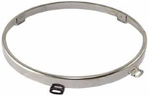OMIX-ADA #12420.02 Headlight Retaining Ring ; 97-06 Jeep Wrangler TJ