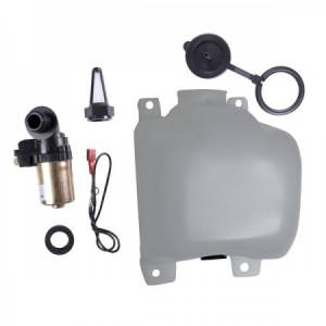 OMIX-ADA #19107.03 OEM Washer Bottle Kit with Pump and Filter; 72-8