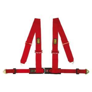 OMP RACING INC #DA508061 Harness 4 Point Red