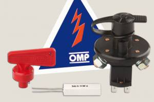 OMP RACING INC #EA/462 Master Disconnect Switch 6 pole w/ Removable Key