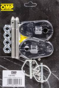 OMP RACING INC #EB/490 Hood Pins Zinc Plated