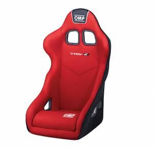 OMP RACING INC #HA/741E/R TRS-E Seat Red