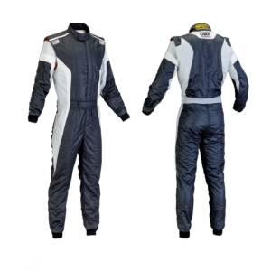 OMP RACING INC #IA0185007654 TECNICA-S Black White Grey Size 54