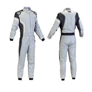 OMP RACING INC #IA0185008948 TECNICA-S Suit Grey White Black Size 48
