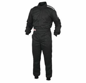 OMP RACING INC #IA01904071M OS 10 Suit Black Medium Single Layer