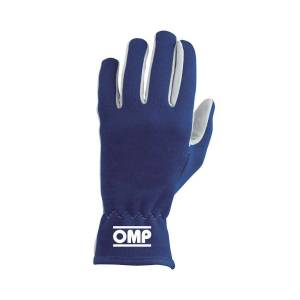 OMP RACING INC #IB/702/B/L Rally Gloves Blue Size L