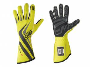 OMP RACING INC #IB/755E/GF/XL One-S Gloves MY2016 Fluo Yellow X-Lrg