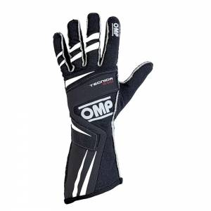 OMP RACING INC #IB/756E/N/S TECNICA EVO Gloves Black Sm * Special Deal Call 1-800-603-4359 For Best Price