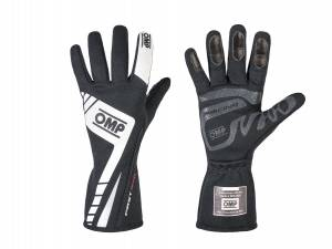 OMP RACING INC #IB/757E/N/S First Evo Gloves MY2016 Black Small