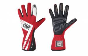 OMP RACING INC #IB/757E/R/XL First Evo Gloves MY2016 Red X-Large
