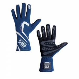OMP RACING INC #IB/761E/B/XL FIRST-S Gloves Blue Size XL