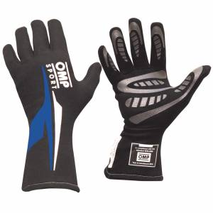 OMP RACING INC #IB762ENBXL OS 60 Gloves Black And