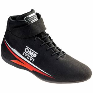 OMP RACING INC #IC/81607145 OMP Sport Shoes MY 2018 Black Size 45 US 10 1/2