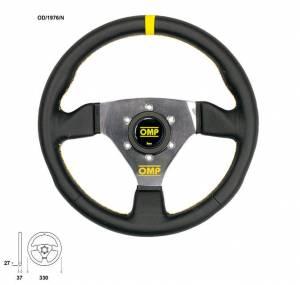 OMP RACING INC #OD/1976/N Trecento 300mm Steering Wheel Black Leather