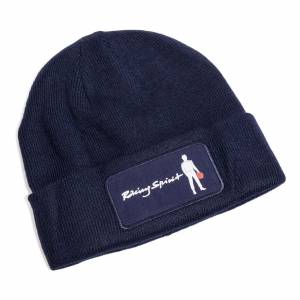 One Size Beanie Racing Spirit Logo Navy * Special Deal Call 1-800-603-4359 For Best Price