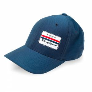 OMP RACING INC #RSC0003042 Flexfit Hat Racing Spirit Navy One Size * Special Deal Call 1-800-603-4359 For Best Price
