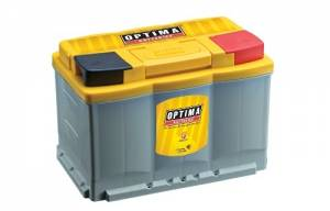 OPTIMA BATTERY #OPT7048-148-MTR Battery Yellow Top H6 800cca/928ca Model DH6