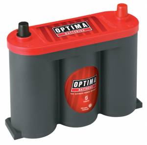 OPTIMA BATTERY #8010-044 Battery 6V Red Top 800cc a/1000ca 34/78 Top Post