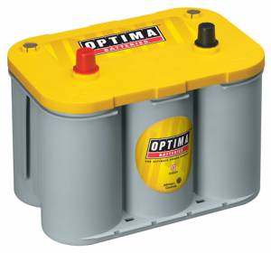 OPTIMA BATTERY #8012-021 Battery Yellow Top 750cc a/870ca 34 Top Post