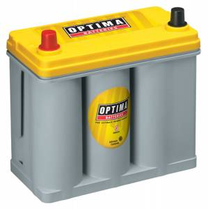 OPTIMA BATTERY #8071-167 Battery Yellow Top 450cc a/575ca 51 Top Post