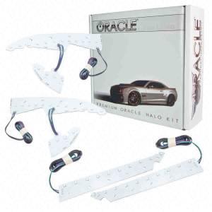 ORACLE LIGHTING #2450-330 14-  GMC Sierra LED Halo Headlight Kit Colorshift