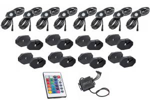 ORACLE LIGHTING #5819-333 LED Bluetooth + RF Color shift Underbody Rock Kit