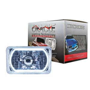 ORACLE LIGHTING #6909-001 4x6in Sealed Beam Head Light w/Halo White