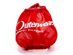 OUTERWEARS #10-1013-03 3in Breather Pre-Filter Red