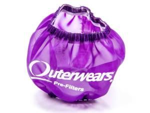 OUTERWEARS #10-1018-07 3in Breather W/Shield Purple