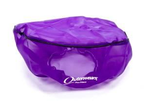 OUTERWEARS #10-1160-07 14in. x 6in. Pre-Filter W/Top Purple