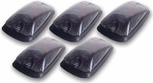 PACER PERFORMANCE #20-220S Cab Roof Lights Smoke 88-02 GM P/U Non LED