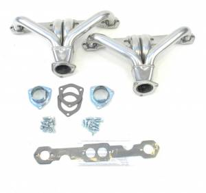PATRIOT EXHAUST #H8037-1 Coated Headers - SBC Tight Tuck