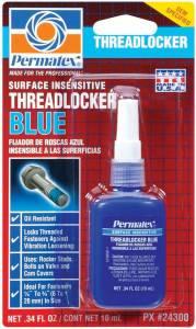 PERMATEX #24300 Medium Threadlocker 10ml Bottle - Blue