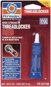 PERMATEX #27100 Threadlocker Red