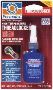 PERMATEX #27200 Hi Temp Threadlocker 10ml - Red