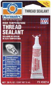 PERMATEX #59214 Pipe Sealant 6ml Tube