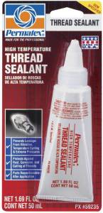 PERMATEX #59235 High Temp Thread Sealant 50ml